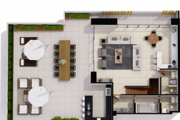 Penthouse D + Rooftop